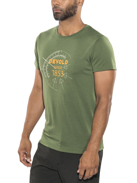 Devold M's Compass Tee Forest